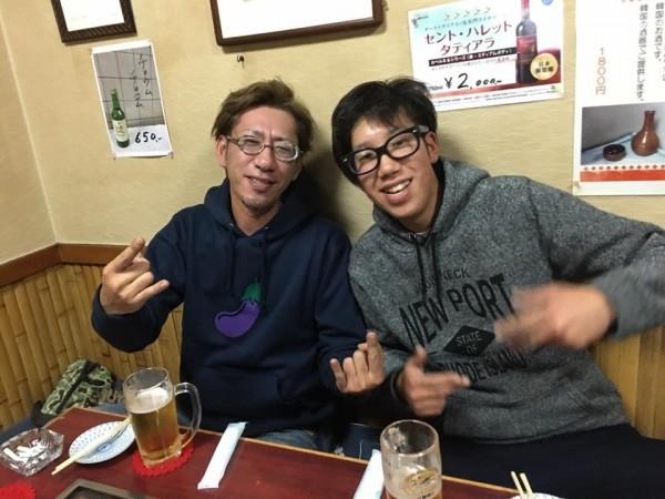 hideup ボンバー ブログ写真 2017/02/17