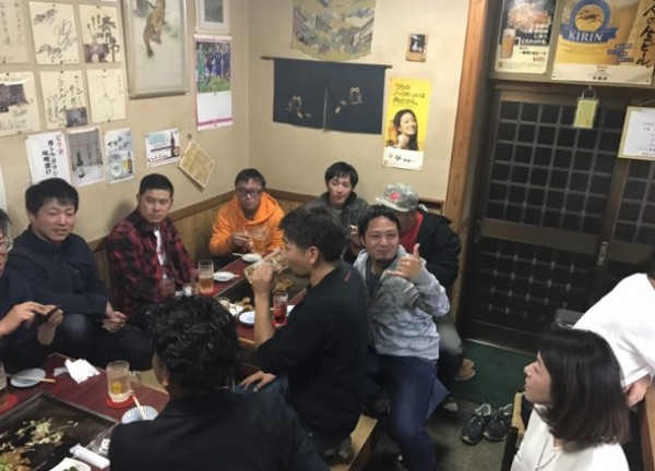 hideup 久次米良信 ブログ写真 2016/12/19