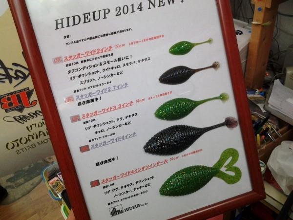 hideup 美濃島健二 ブログ写真 2014/01/17