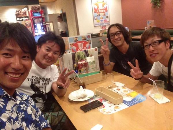 hideup 永野総一朗 ブログ写真 2014/07/27